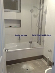 bath shower combined posh showers shower enclosure bathroom products from reece