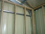Timber Stud Wall In Stratco Shed How To Anchor